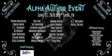 Alpha Author Event 2020 tickets