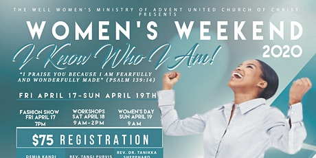 AUCC Women's Weekend 2020: I Know Who I Am tickets