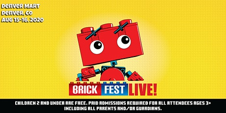 *NEW 2021 DATES* Brick Fest Live (Denver, CO) tickets