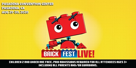 *NEW 2021 DATES* Brick Fest Live (Pasadena, CA) tickets