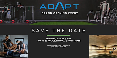 Grand Opening ADAPT Wellness Center tickets