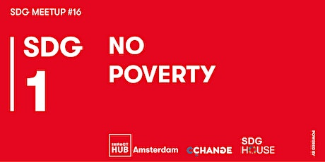 SDG Meetup #16 | SDG 1: No Poverty tickets