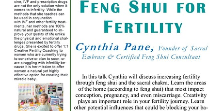 Canceled: Feng Shui for Fertility tickets