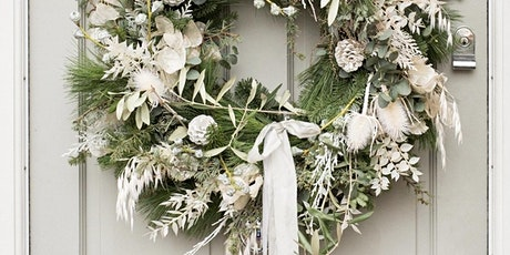 Contemporary Christmas wreath masterclass tickets