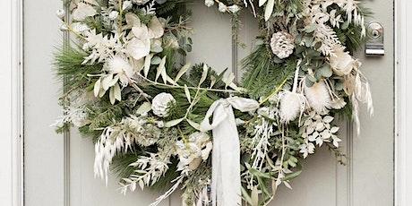 Contemporary Christmas wreath masterclass tickets