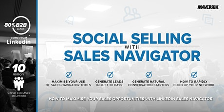 Social Selling with Sales Navigator - Cambridge tickets