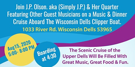 Music and Dinner Cruise With JP Olson  tickets