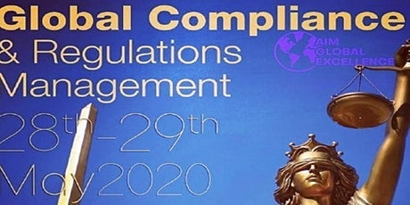 Global Compliance and Regulations Management 2020 tickets