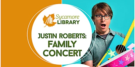 Justin Roberts: Family Concert @ Sycamore Library tickets