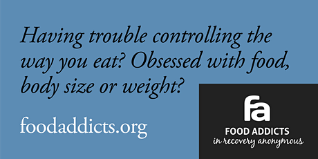 Are you having trouble controlling the way you eat? tickets