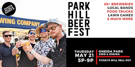 Park Hill Beer Fest 2020 tickets