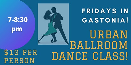 Urban Ballroom Dance Class in Gastonia tickets