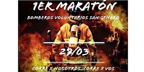1er MARATON BOMBEROS VOLUNTARIOS SAN GENARO entradas