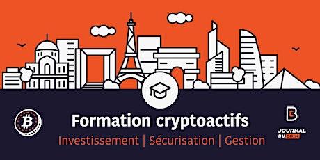 Formation Cryptoactifs : Investissement et Sécurisation  billets