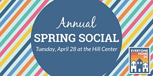 Cancelled: Everyone Home DC Annual Spring Social