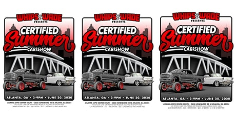 Certified Summer Car Show Presented by Whips By Wade tickets