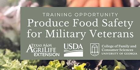 Food Safety Training for Military Veterans - Wilson County tickets