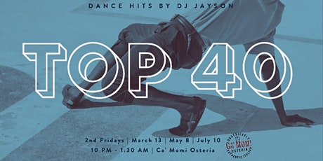 Top 40 Dance Hits with DJ Jayson tickets