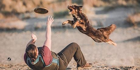 Initiatie hondenfrisbee tickets