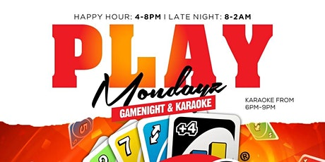 PLAY MONDAYZ tickets