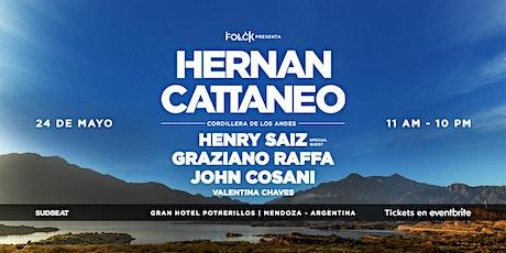 HERNAN CATTANEO - Potrerillos, Mendoza 2020 entradas