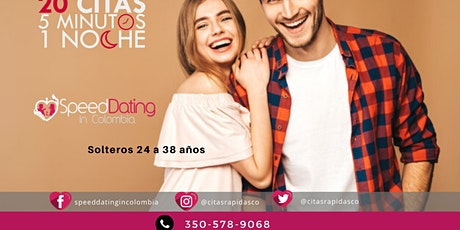Speed Dating Solteros de 24 a 38 años entradas