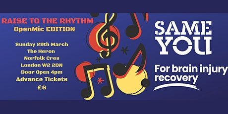 *POSTPONED* Raise to the Rhythm: Open Mic & Fundraiser for SameYou tickets