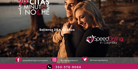 Speed Dating Medellín Solteros de 28 a 42 años boletos