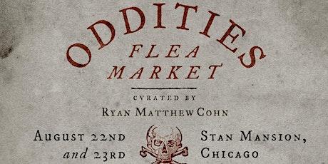 RESCHEDULED Sunday Oddities Flea Market Chicago VIP 10AM tickets