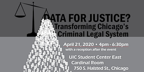 Data For Justice? Transforming Chicago's Criminal Legal System tickets