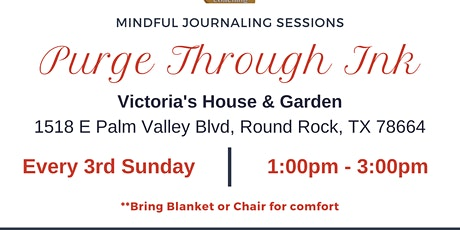 Purge Through Ink: Mindful Journaling Sessions tickets
