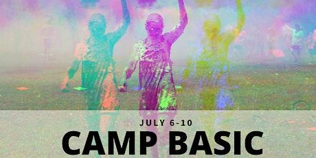 Camp BASIC tickets