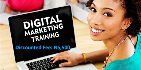 Practical Digital Marketing Training in Lagos tickets