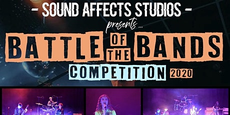 Sound Affects Studios Battle of the Bands 2020  tickets