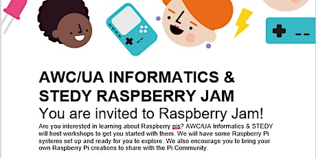 AWC/UA & STEDY Raspberry Jam tickets