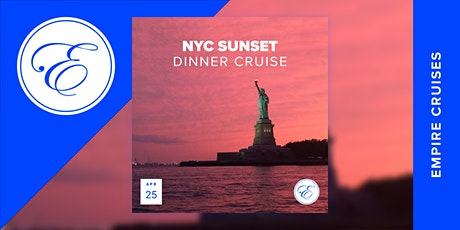 Sunset Dinner Cruise aboard the Timeless tickets