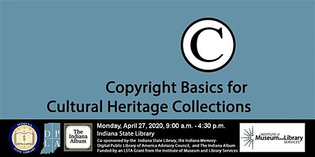 Copyright Basics for Cultural Heritage Collections tickets