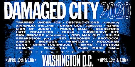 DAMAGED CITY 2020 tickets