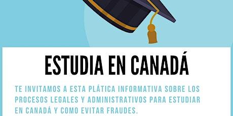 Estudia en Canadá billets