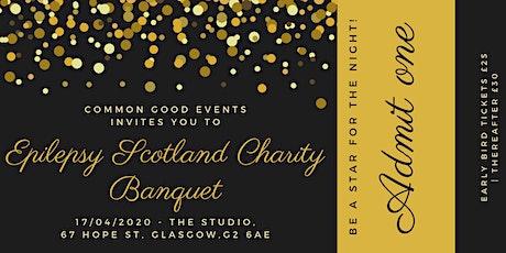 Epilepsy Scotland Charity Banquet tickets