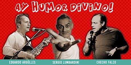 Ay Humor Divino | Stand Up y Canciones de Humor en el Teatro Brown de La Boca entradas