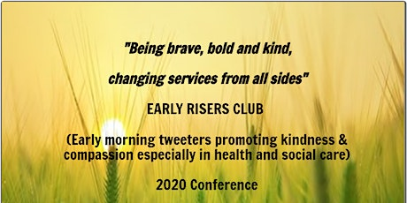 'Being brave, bold & kind, changing services from ALL sides' ERC Conference tickets