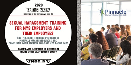 BID TRAINING SERIES: Quarterly Sexual Harassment Training tickets