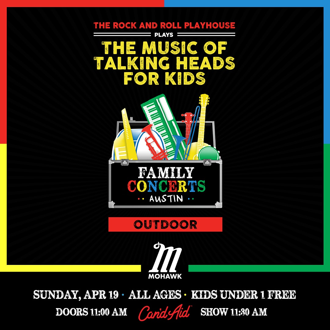 POSTPONED: The Music of Talking Heads for Kids