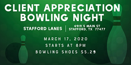 Climate Beauty Bowling Night tickets
