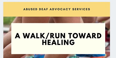 A Walk/Run Toward Healing tickets