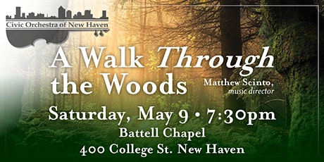 'A Walk Through the Woods' with the Civic Orchestra of New Haven tickets