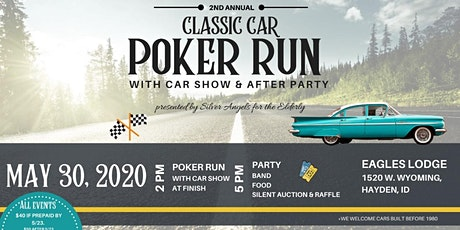 Classic Car Poker Run/Car Show and Party tickets