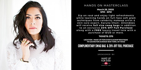 Hands On Makeup Masterclass tickets