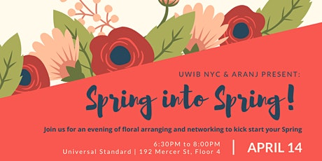 UWIB NYC Presents: Spring into Spring with ARANJ! tickets